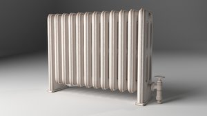 old radiator obj