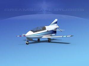 plane bd-5 bede 3d 3ds