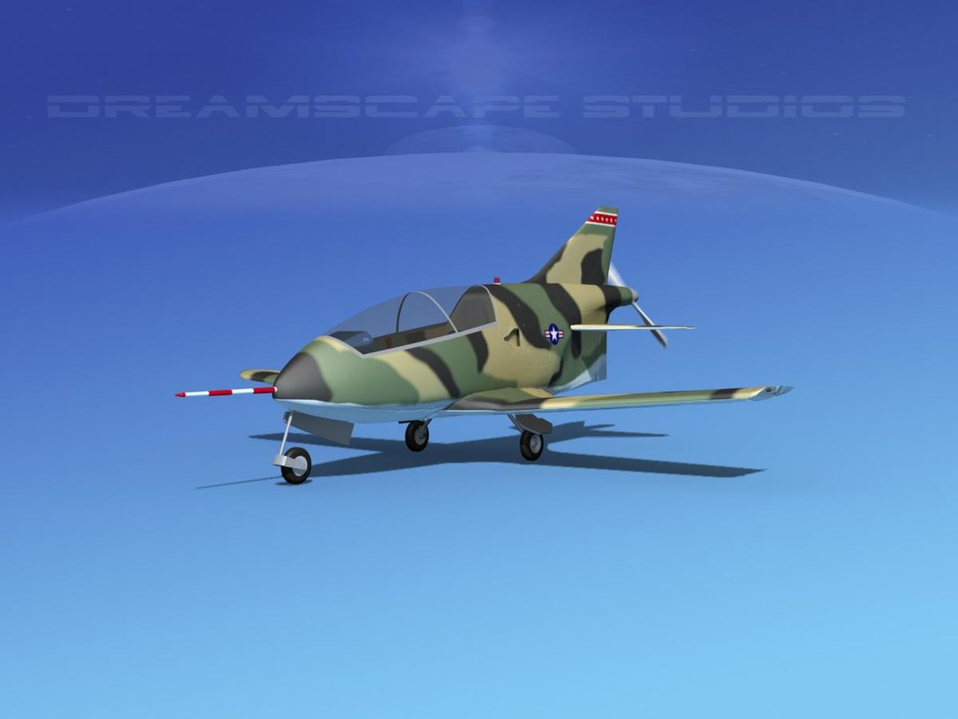 3d model of plane bd-5 bede