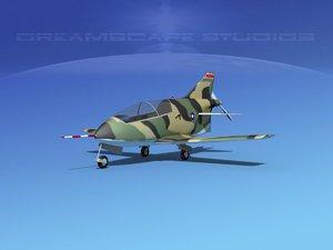 3d model of plane bd-5 bede