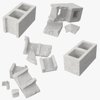 max broken cinder blocks -
