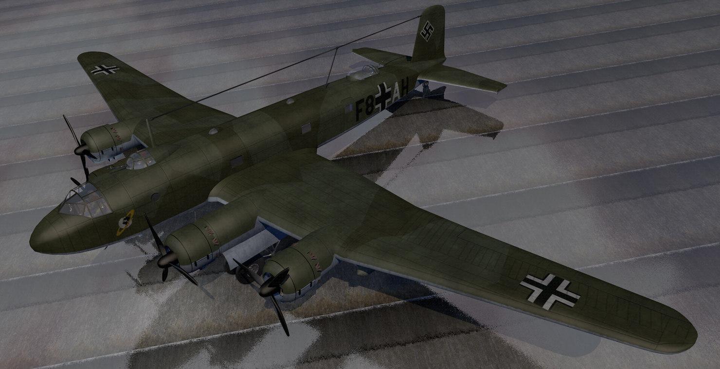 fw-200c-1 bomber 3ds