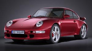 3d porsche 911 993