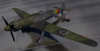 3d german fighter aircraft