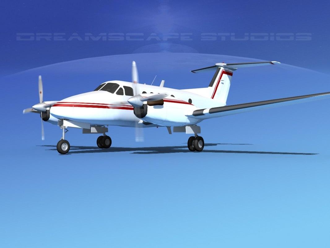 3d propellers beechcraft king air
