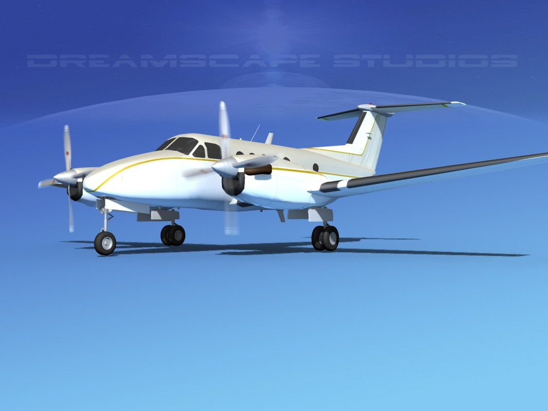 obj propellers beechcraft king air