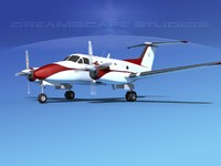 3d max propellers beechcraft king air