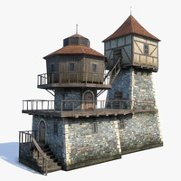 medieval fantasy house 3ds