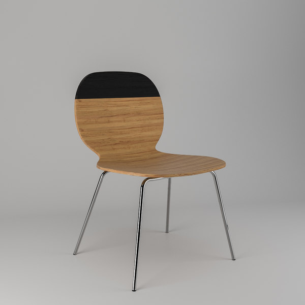 kelly c wooden chair obj free