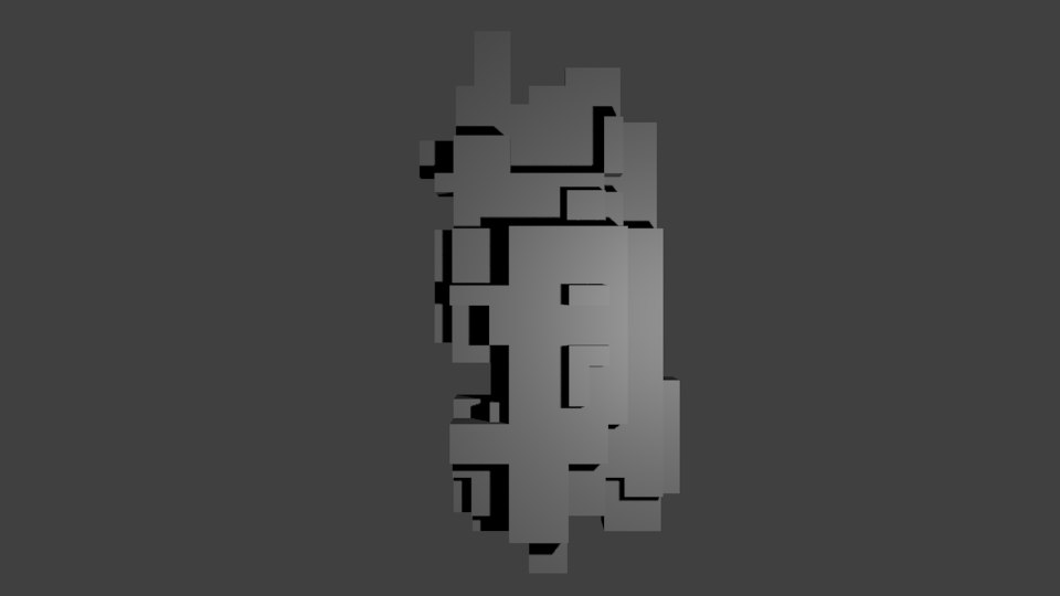 3d voxel wall