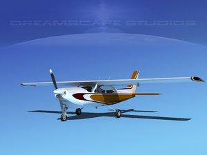 cessna 177rg cardinal 3d model