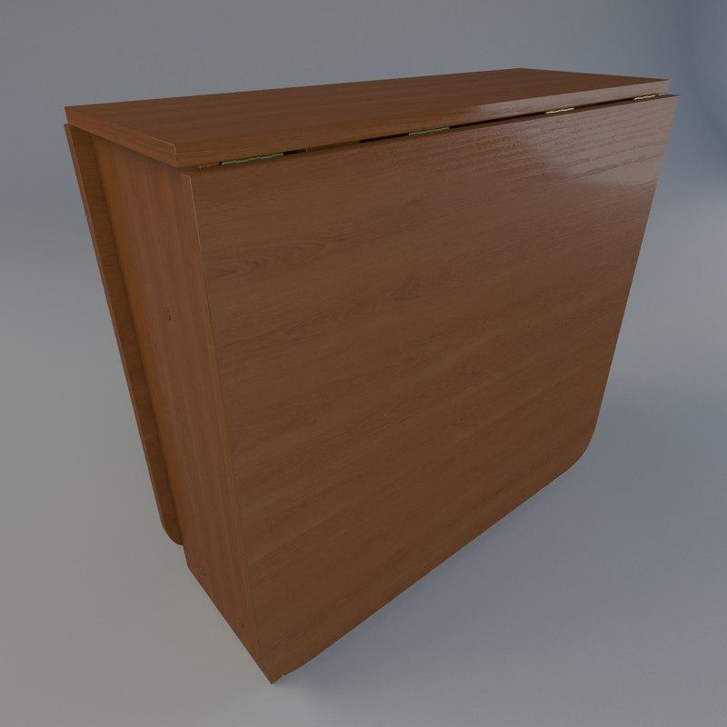 3d model realistic table