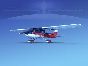 cessna 150 aerobat 3d model