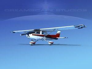 3d model cessna 150 aerobat