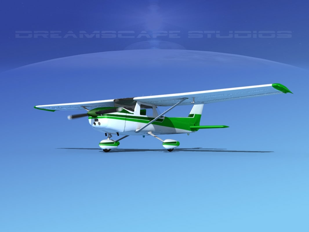 3d cessna 150 commuter model