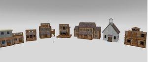 west town 3d model