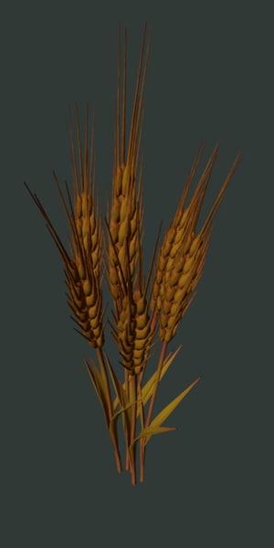 grain 3d obj