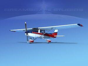 3d cessna 152 aerobat