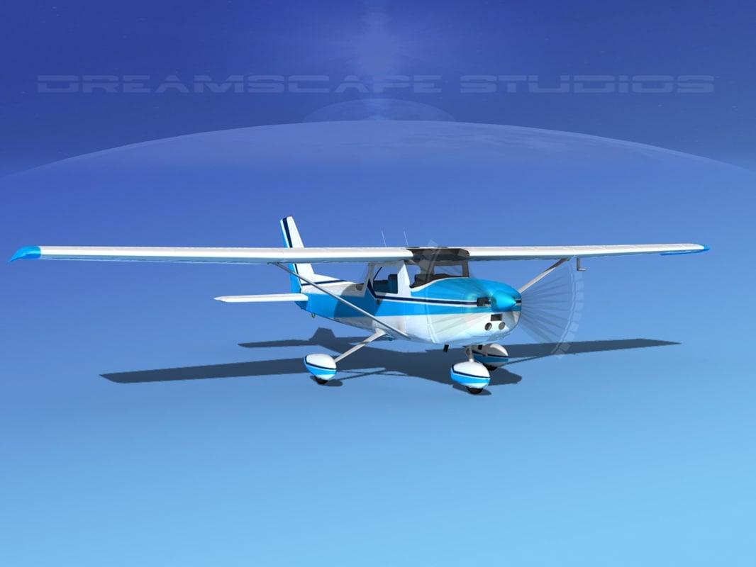 cessna 152 aerobat 3d max