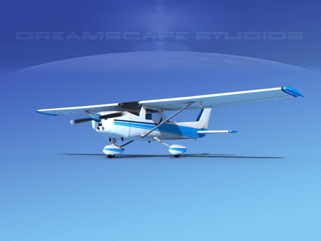 3d cessna 150 commuter