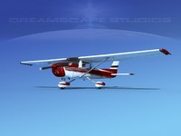 3d model cessna 150 commuter