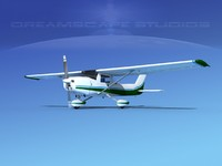 3d model cessna 152 commuter