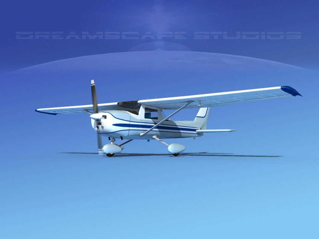 3d cessna 152 commuter