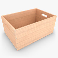 max realistic wooden box 03