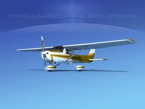 cessna 152 commuter 3d model