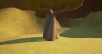 Low Poly Fantasy Tree