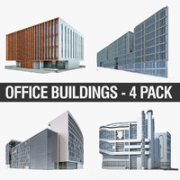 modern office buildings max