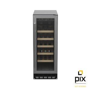 3d photorealistic benchmarx wine cooler model