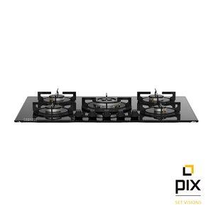 3d photorealistic zanussi gas hob