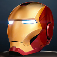 3d iron man helmet model
