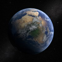 3d earth solar sun