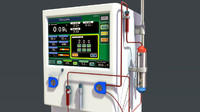 dialysis machine obj