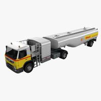 3d airport fuel truck model