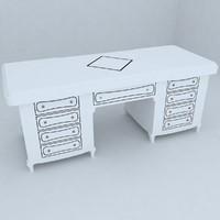 3d table designs model