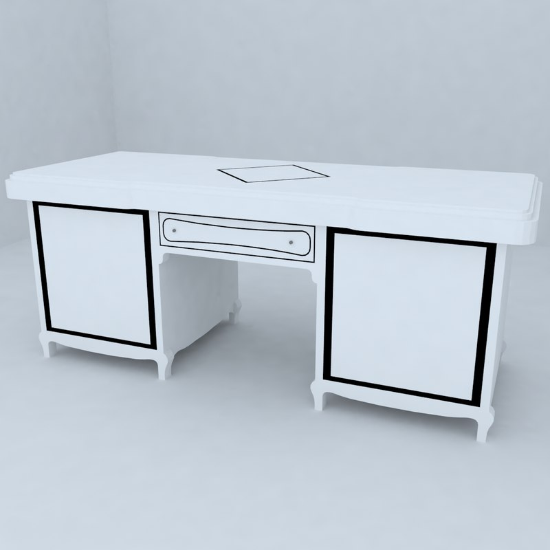 3d model table designs