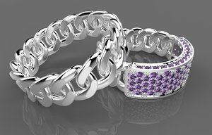3d ring dior