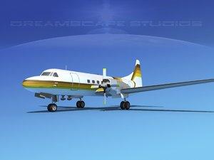 propellers convair cv-580 3d max