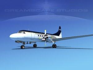 3d propellers convair cv-580 charter model