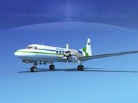 propellers convair cv-580 3ds
