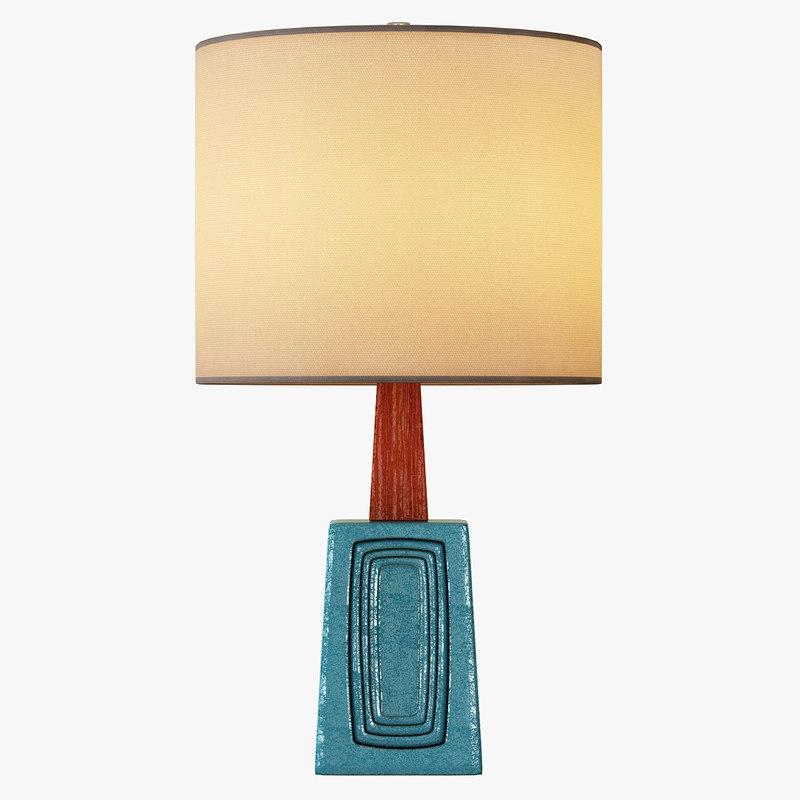 3d model dbo home table lamp