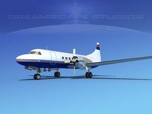 lwo propellers convair cv-580