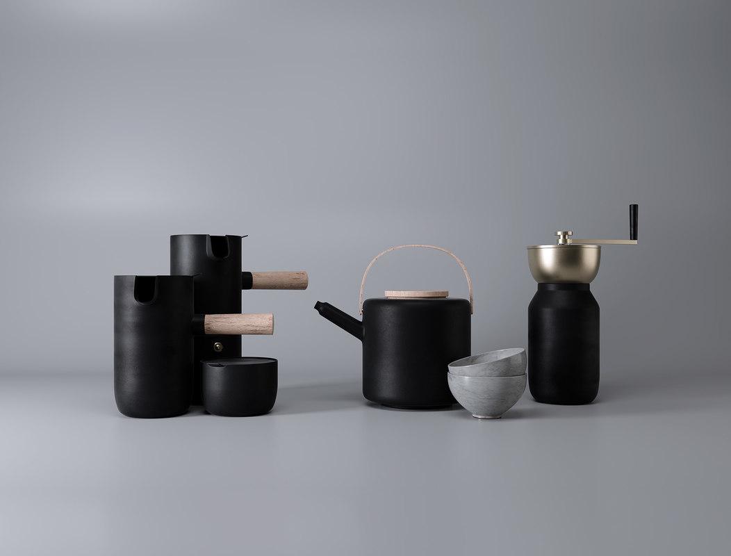 free collar pots 3d model