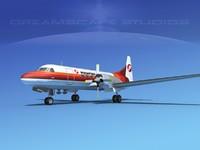 propellers convair cv-580 3d 3ds