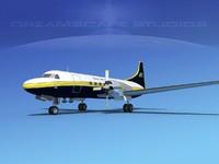 3d propellers convair cv-580 transport