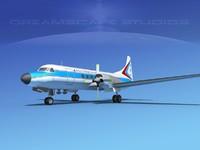 3d propellers convair cv-580