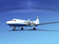 3d propellers convair cv-580 model